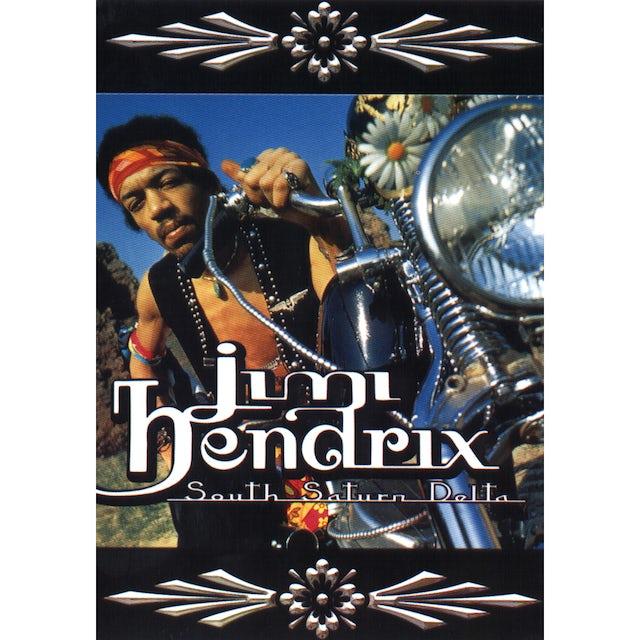 Jimi Hendrix South Saturn Delta Postcard