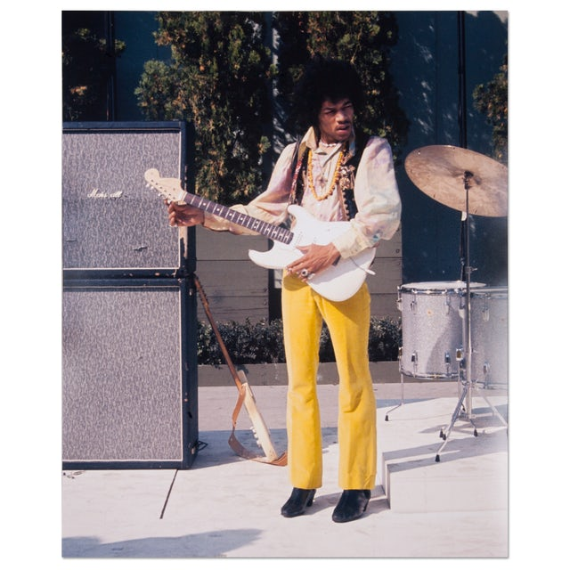 Jimi Hendrix Photo No. 2  Hollywood Bowl 67