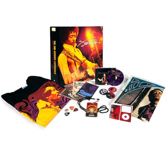 Jimi Hendrix Live 1968 Paris/Ottawa Fan Pack with T-shirt + CD
