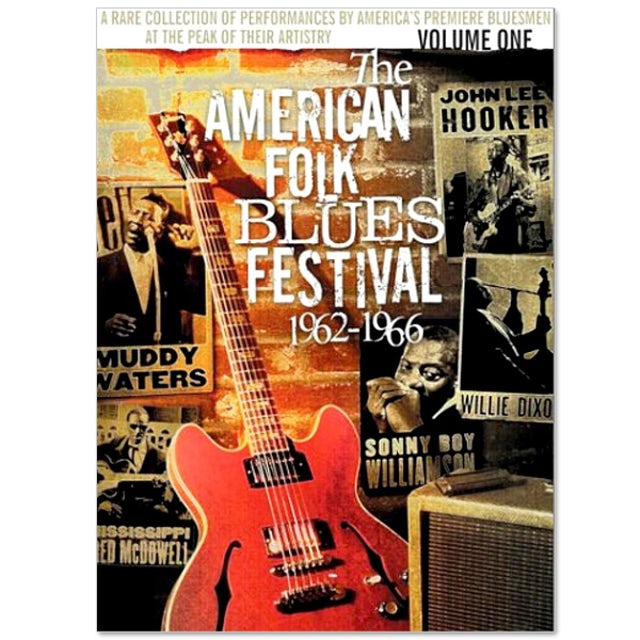 Jimi Hendrix American Folk Blues Festival 1962-1966 Vol. 1 DVD