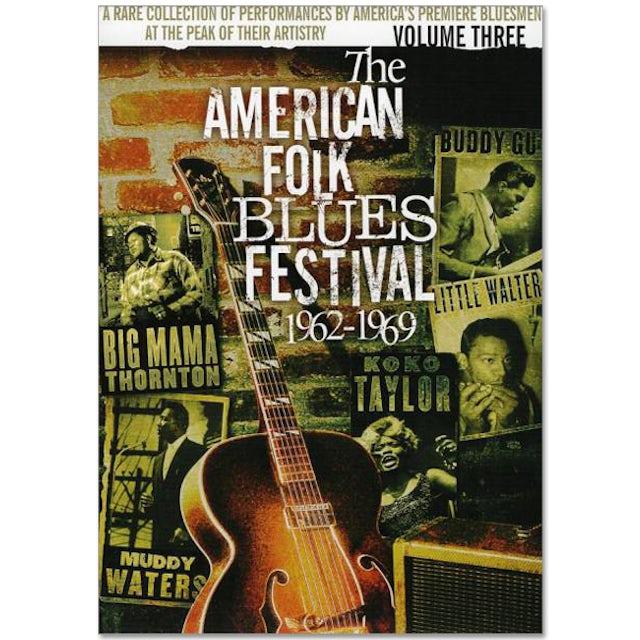 Jimi Hendrix American Folk Blues Festival 1962-1969 Vol. 3 DVD