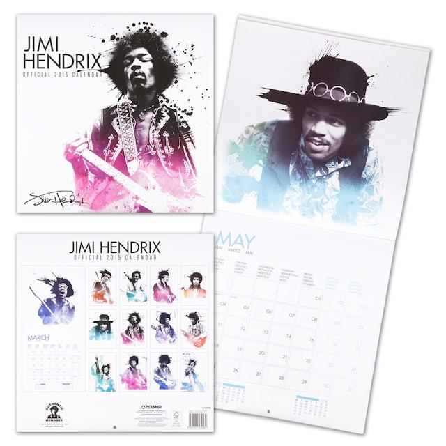 Jimi Hendrix 2015 Calendar
