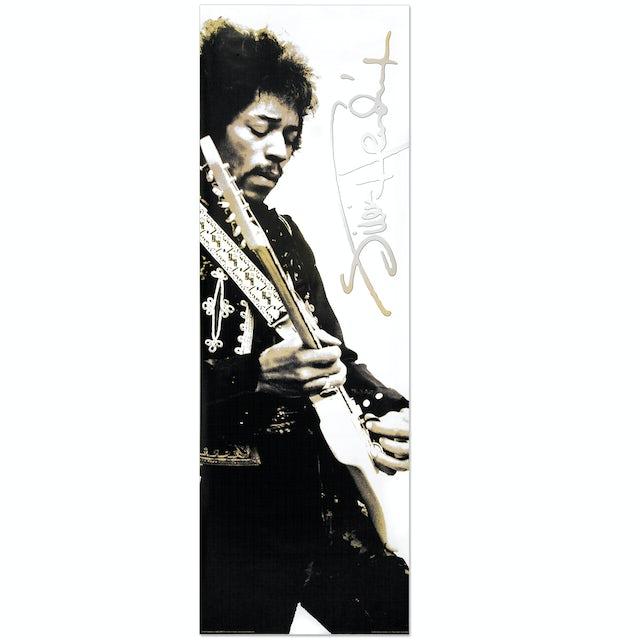 Jimi Hendrix Hollywood Bowl Rehearsals Door Poster