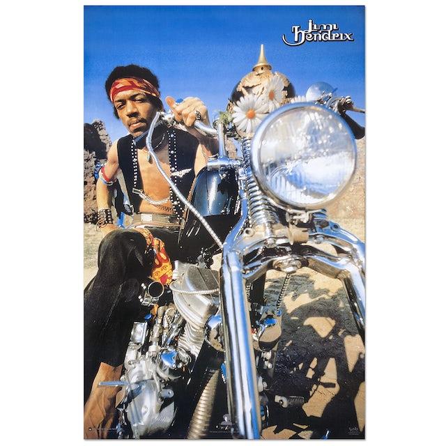 Jimi Hendrix South Saturn Delta Poster