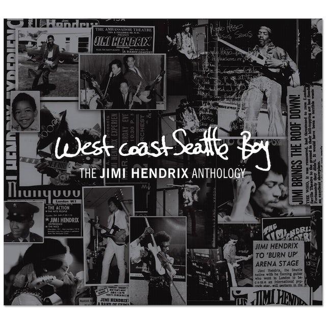 West Coast Seattle Boy: The Jimi Hendrix Anthology CD/DVD Set