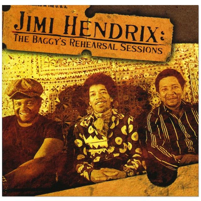 Jimi Hendrix: The Baggys Rehearsal Sessions CD