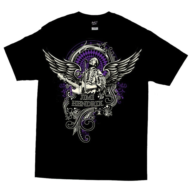 Jimi Hendrix Wings of Glory T-Shirt