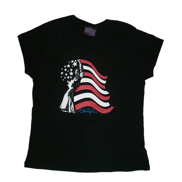 Jimi Hendrix Hendrix Patriot Ladies T-Shirt