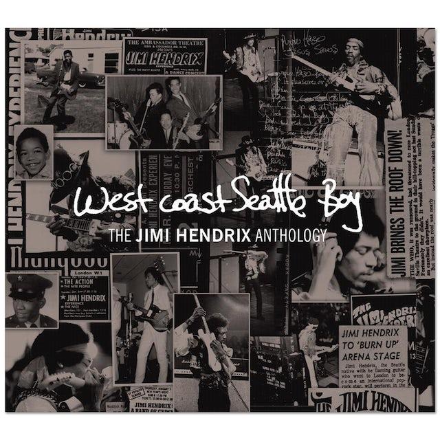 West Coast Seattle Boy: The Jimi Hendrix Anthology - 8 LP (Vinyl)