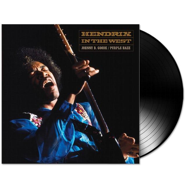 "The Jimi Hendrix Experience: Johnny B. Goode / Purple Haze 7"" Vinyl Single"