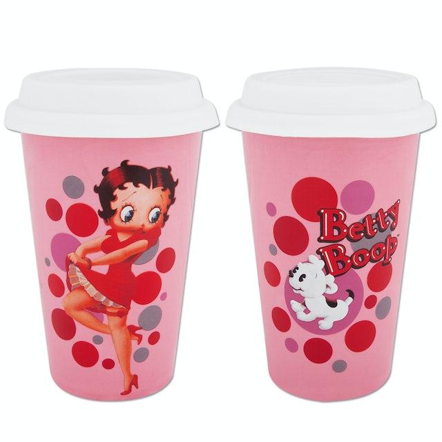 Betty Boop Double-Wall Travel Mug