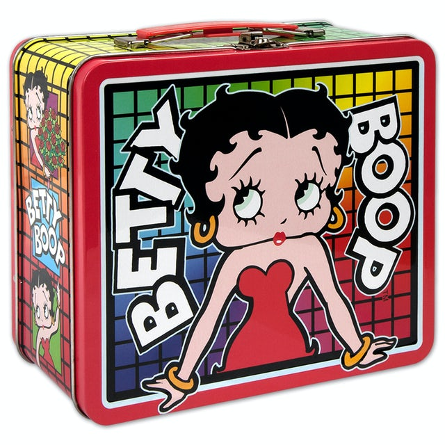 Betty Boop Color Grid Lunch Box