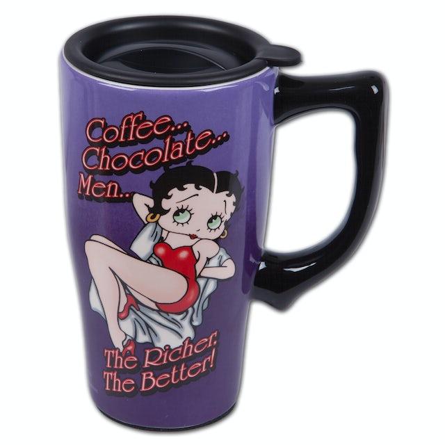 Betty Boop - The Richer the Better Travel Mug