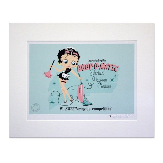 Betty Boop Boop-O-Matic 14inch x 11inch Print