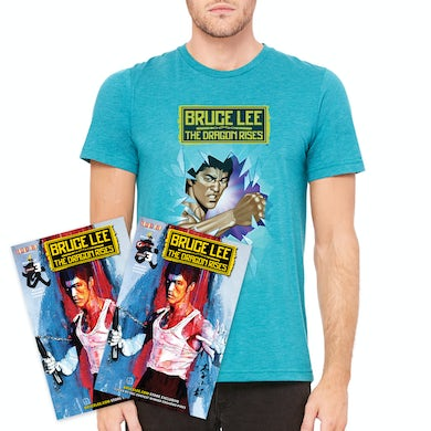 Bruce Lee The Dragon Rises Issue #3, Cover 2 and T-Shirt Bundle