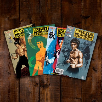 Bruce Lee: The Dragon Rises Issues 1-4 Bundle #2
