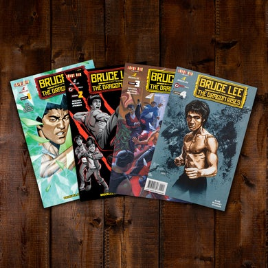 Bruce Lee: The Dragon Rises Issues 1-4 Bundle #3