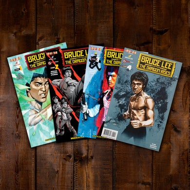 Bruce Lee: The Dragon Rises Issues 1-4 Bundle #4