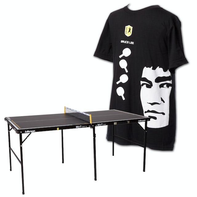 Bruce Lee Killerspin Table/T-Shirt Bundle