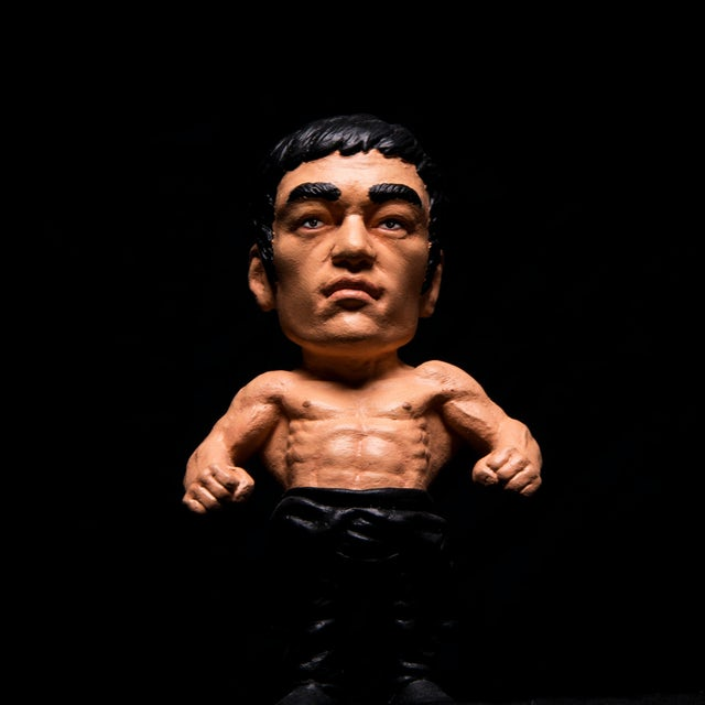 Bruce Lee Sculpture by Plastic Cell - LTD Edition of 75