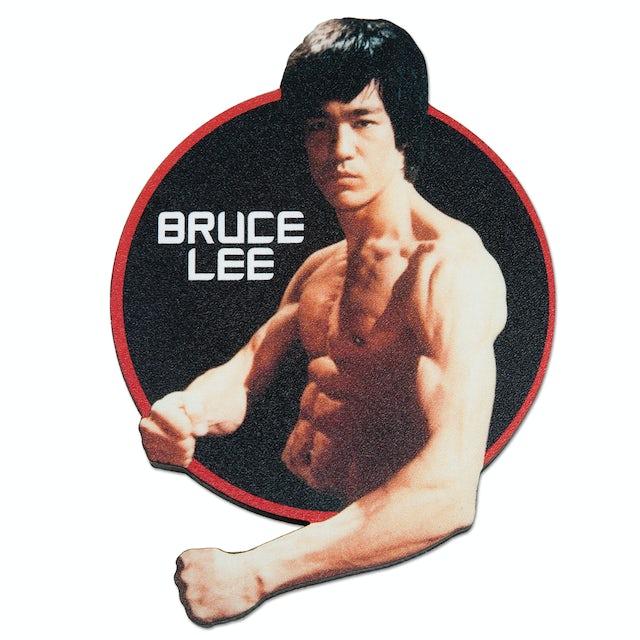 Bruce Lee Circle Fridge Magnet