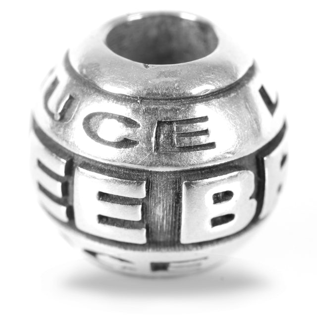 Bruce Lee Name Quote Bead