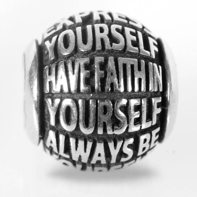 Bruce Lee Yourself Quote Bead