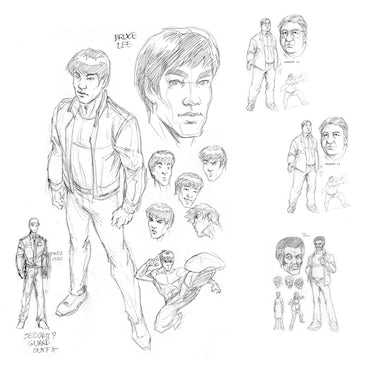 Bruce Lee The Dragon Rises Issue # 1 Cover 2