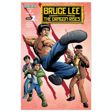Bruce Lee The Dragon Rises Issue # 2 Cover 1