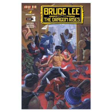 Bruce Lee The Dragon Rises Issue # 3 Cover 1