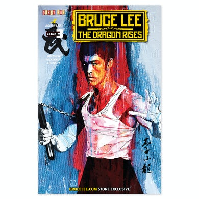 The Dragon Rises Issue # 3 Cover 2 - A Bruce Lee Store Exclusive