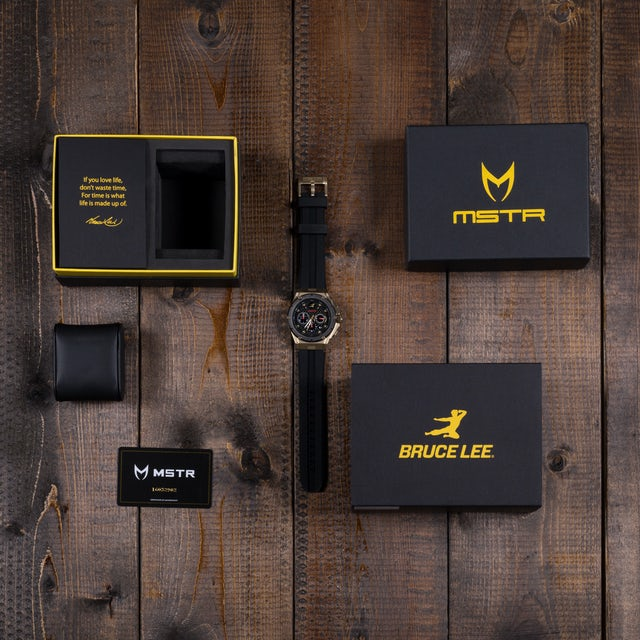 Bruce Lee Ambassador MKIII Yellow Gold Meister Watch