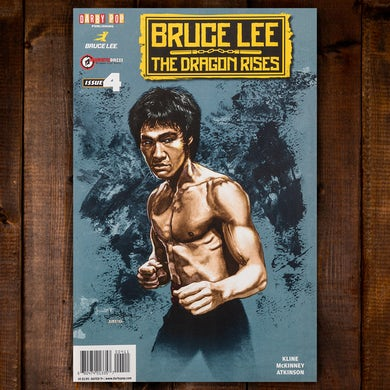 Bruce Lee The Dragon Rises Issue #4 Cover 1