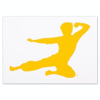 Bruce Lee Flying Man Sticker - FREE w/ purchase