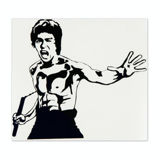 Bruce Lee ETD Sticker