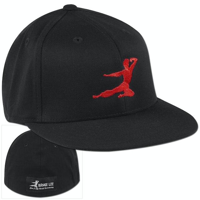 Bruce Lee Red Logo Cap