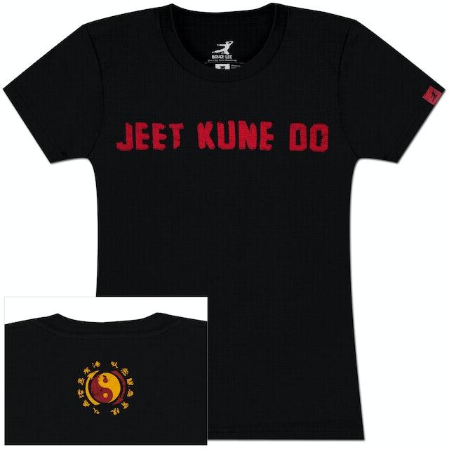 Bruce Lee Ladies JKD Applique T-shirt
