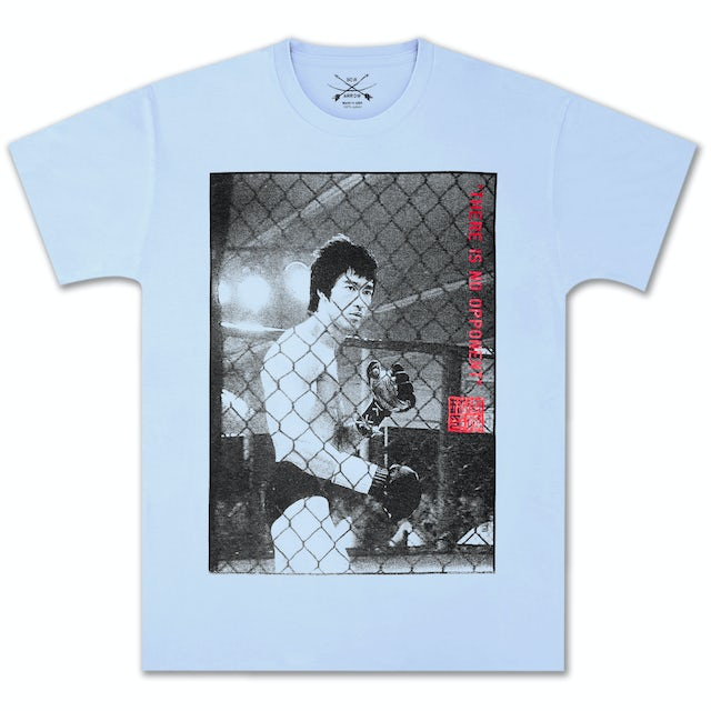 Bruce Lee No Opponent T-shirt by Bow & Arrow