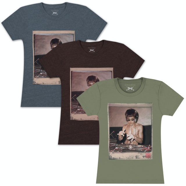 Bruce Lee DJ Dragon Ladies T-shirt by Bow & Arrow