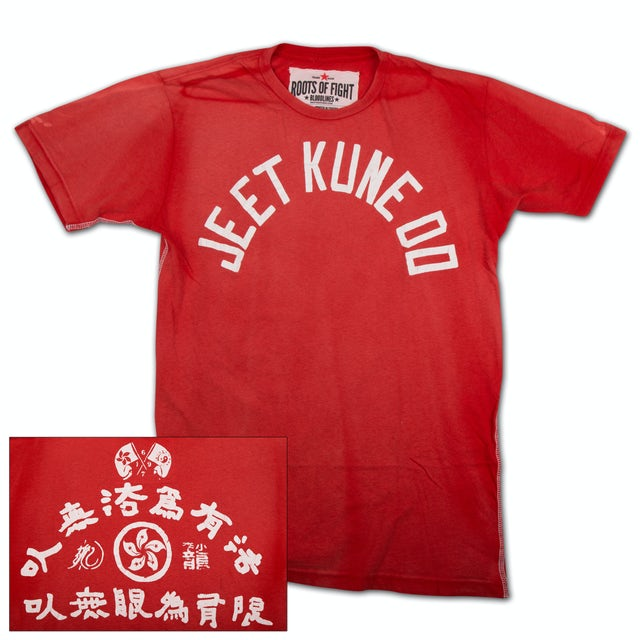 Bruce Lee JKD Text T-shirt by Roots of Fight