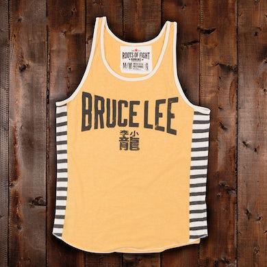 Bruce Lee Emblem Stripe Tank