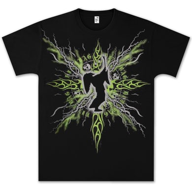 Dimebag Darrell Electric Silhouette T- Shirt