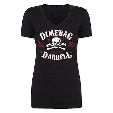 Dimebag Darrell Lightning Skull Junior V-Neck