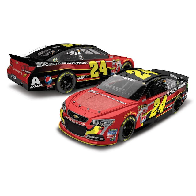 Hendrick Motorsports DTEH Ride with Jeff 2013 1:24 Scale Diecast COLOR CHROME