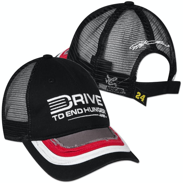 Hendrick Motorsports Jeff Gordon #24 AARP Bubba Mesh Trucker Hat