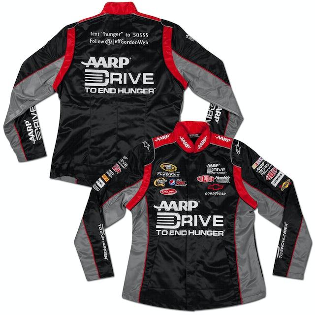 Hendrick Motorsports Jeff Gordon #24 Drive To End Hunger Ladies Replica Uniform Jacket