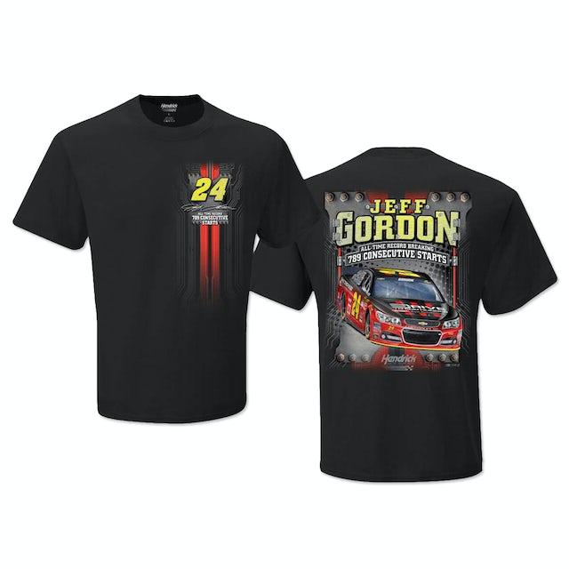 Hendrick Motorsports Jeff Gordon #24 Consecutive Start Record T-Shirt