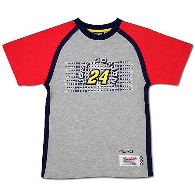 Hendrick Motorsports Jeff Gordon Youth Checkered Flag T-shirt