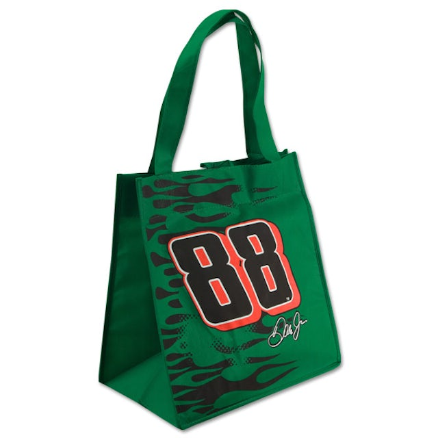 Hendrick Motorsports Dale Jr. #88 JR Nation Green Reusable Shopping Tote