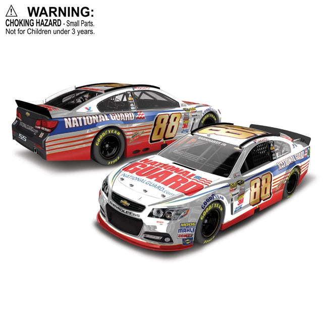Hendrick Motorsports Dale Jr #88 2014 National Guard 1:64 Scale Diecast HARDTOP